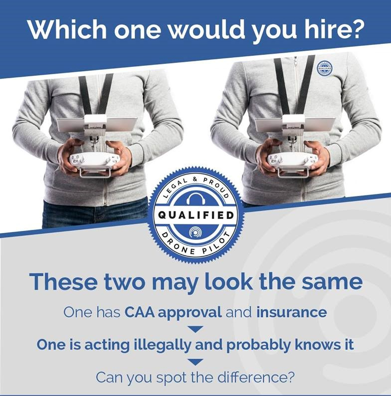 Legal CAA PFCO Drone Hire & Operator Cumbria & Lake District