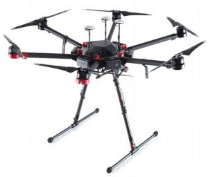 DJI Matrice M600 drone, as per the drone that exploded in Venezuela President Nicolas Maduro assassination attempt